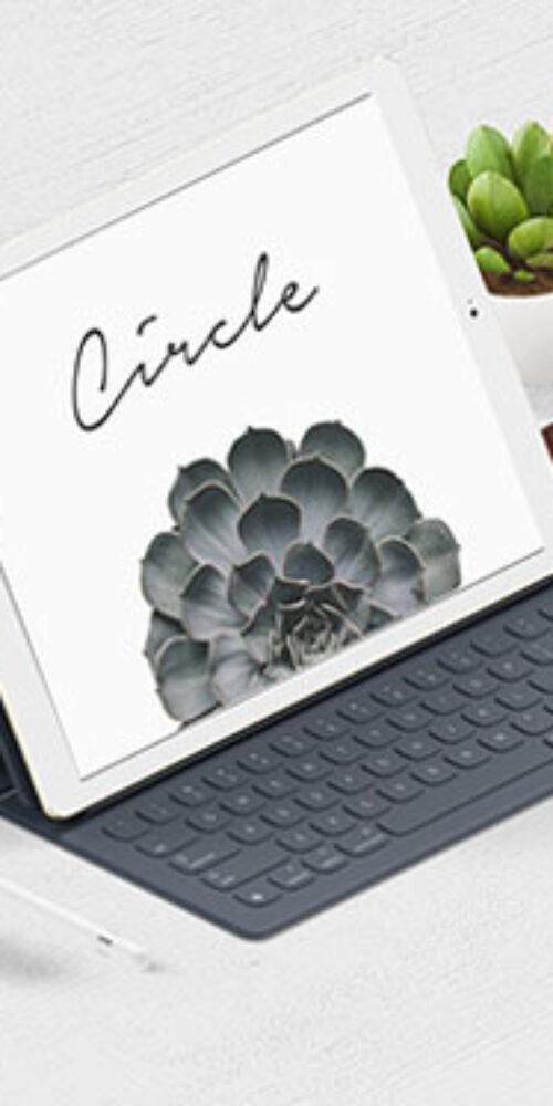 Creative tablet keyboard